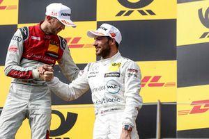 Podyum: Yarış galibi René Rast, Audi Sport Team Rosberg ve 3. Gary Paffett, Mercedes-AMG Team HWA