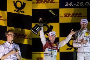 Podium: Second place Robin Frijns, Audi Sport Team Abt Sportsline, Audi RS5 DTM
