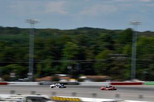 Elliott Sadler, JR Motorsports, Chevrolet Camaro Armour Chili and Brad Keselowski, Team Penske, Ford Mustang Snap-On