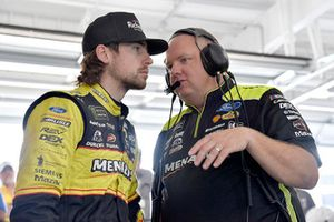 Ryan Blaney, Team Penske, Ford Fusion Menards/Richmond and Jeremy Bullins