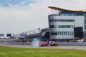 Max Verstappen in actie tijdens de Gamma Racing Day 2015