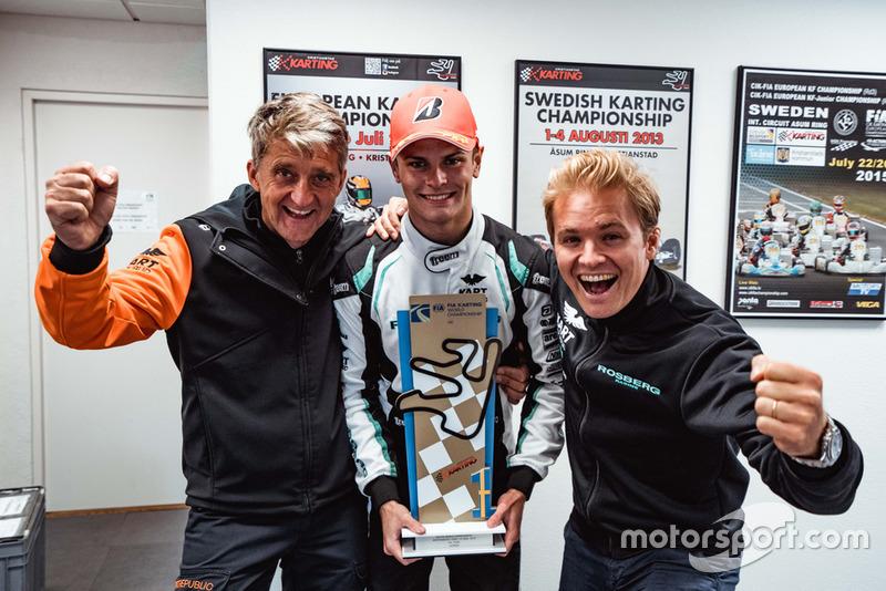 Lorenzo Travisanutto, Nico Rosberg, Kart Republic