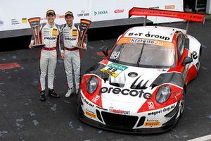 Champions 2018, #99 Precote Herberth Motorsport Porsche 911 GT3 R: Robert Renauer, Mathieu Jaminet