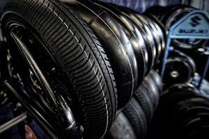 MotoGP-Reifen von Michelin: Regenreifen und Slicks