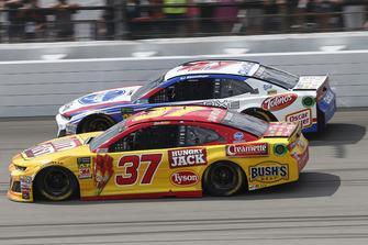 Chris Buescher, JTG Daugherty Racing, Chevrolet Camaro Slim Jim A.J. Allmendinger, JTG Daugherty Racing, Chevrolet Camaro Kroger ClickList