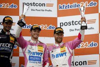Podium: third place #26 BWT Mücke Motorsport Audi R8 LMS: Jeffrey Schmidt, Stefan Mücke
