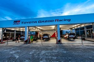 Team area Toyota Gazoo Racing WRT