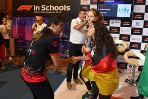 David Croft, Sky TV, Finales mundiales de F1 en las escuelas