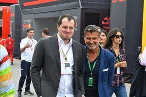 Enrico Zanarini e Alexander Moiseev, Chief Business Officer di Kaspersky Lab