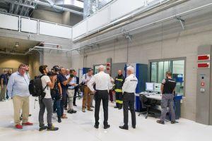 Il team di ricerca e sviluppo Petronas di Geoffrey Willis