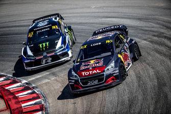 Sébastien Loeb, Team Peugeot Total, Petter Solberg, PSRX Volkswagen Sweden