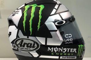 Casco de Maverick Viñales, Yamaha Factory Racing