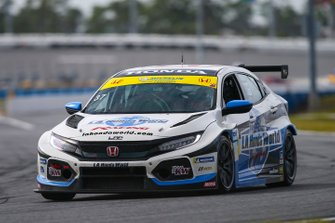 #37 LA Honda World Racing Honda Civic TCR, TCR: Tom O'Gorman, Shelby Blackstock