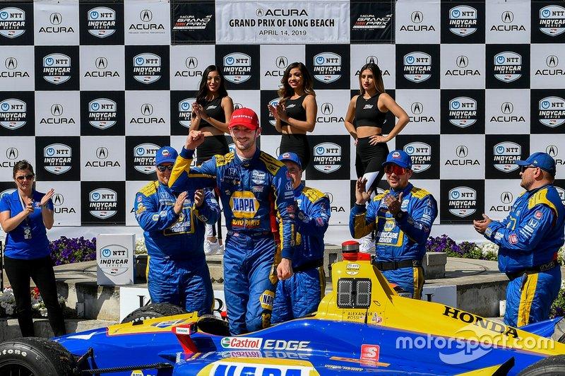 Long Beach-Alexander Rossi-Andretti Autosport Honda