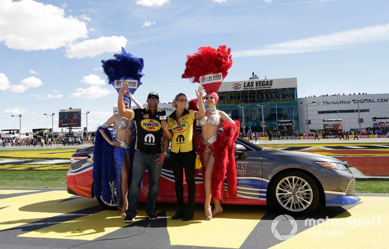 Matt Hagan y Leah Pritchett
