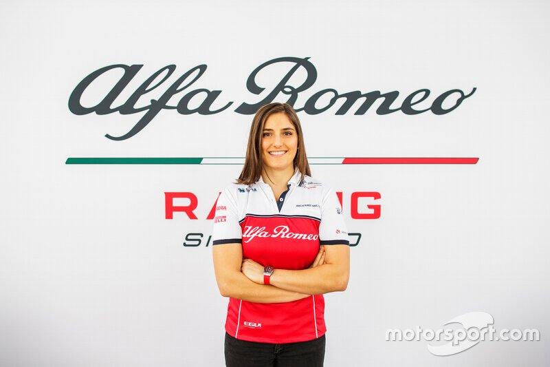 Tatiana Calderón, Alfa Romeo Racing, piloto de prueba