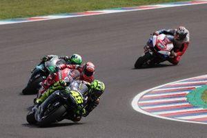 Valentino Rossi, Yamaha Factory Racing, Andrea Dovizioso, Ducati Team, Franco Morbidelli, Petronas Yamaha SRT, Jack Miller, Pramac Racing