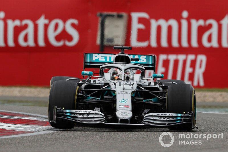 Lewis Hamilton - Pós-corrida