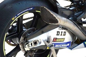 Team Suzuki MotoGP exhaust