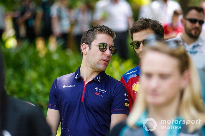 Robin Frijns, Envision Virgin Racing, con Jérôme d'Ambrosio, Mahindra Racing