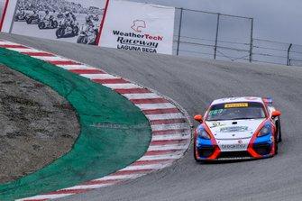 #67 TRG - The Racers Group Porsche 718 Cayman GT4 CS MR: Chris Bellomo, Jason Alexandridis, Spencer Pumpelly