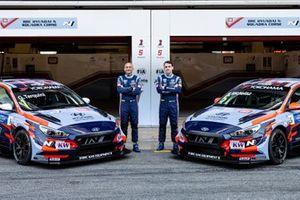 Габриэле Тарквини и Норберт Михелис, BRC Hyundai N Squadra Corse Hyundai i30 N TCR