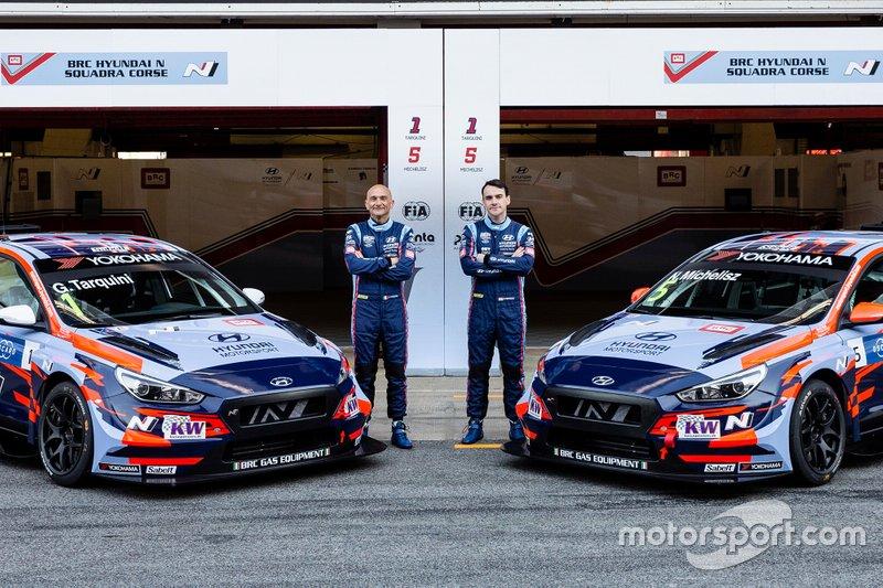 Команда BRC Hyundai N Squadra Corse (Италия): Габриэле Тарквини и Норберт Михелис