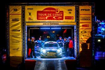 Elfyn Evans, Scott Martin, M-Sport Ford WRT Ford Fiesta WRC