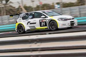 #21 Volkswagen Golf GTI TCR, Kieran Griffin, J W Bird Motorsport