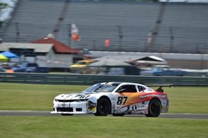 #87 TA2 Chevrolet Camaro driven by Paul Tracy of HP Tech Motorsports