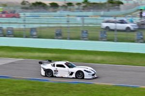 #05 MP2A Ginetta G55 driven by Adolpho Rossi of Ginetta USA