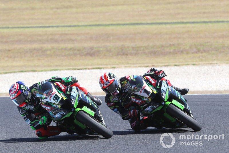 Leon Haslam, Kawasaki Racing, Jonathan Rea, Kawasaki Racing