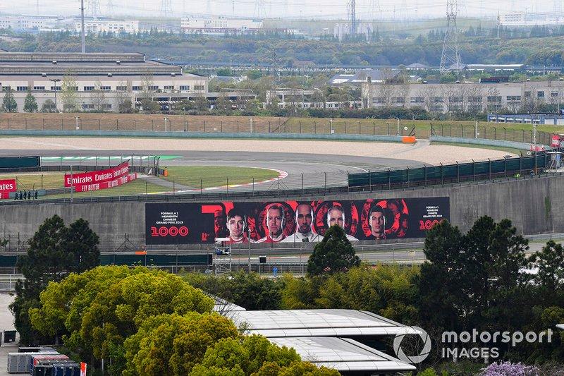 La F1 fête son 1000e Grand Prix