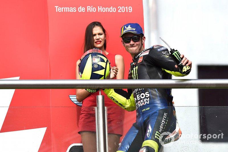 Подіум: друге місце Валентино Россі, Yamaha Factory Racing