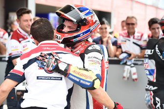 Second place Sam Lowes, Gresini Racing
