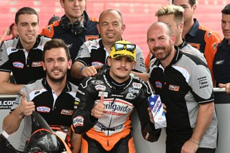 Second place Aron Canet, Max Racing Team