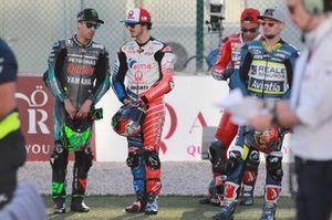 Франко Морбиделли, Petronas Yamaha SRT, и Франческо Баньяя, Alma Pramac Racing