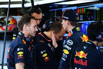 Christian Horner, teambaas Red Bull Racing en Max Verstappen, Red Bull Racing