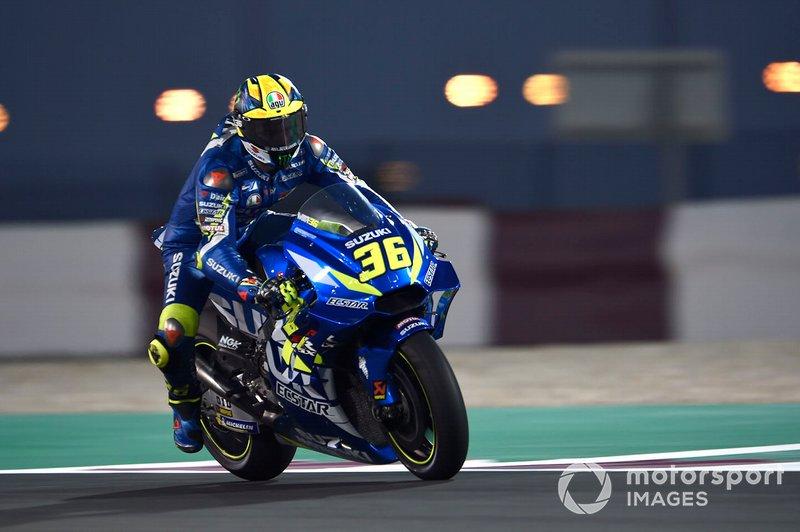 12. Хоан Мір, Team Suzuki MotoGP - 1.54,997