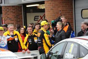 Race winner Tom Chilton, Motorbase Performance Ford Focus