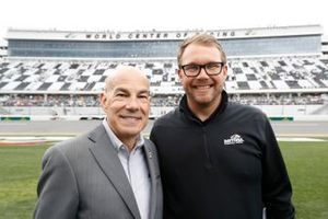 IMSA CEO Scott Atherton and Daytona International Speedway President Chip Wile