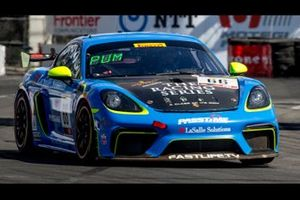 Pole Sitter Spencer Pumpelly, TRG- The Racers Group, Porsche 718 Cayman CS MR