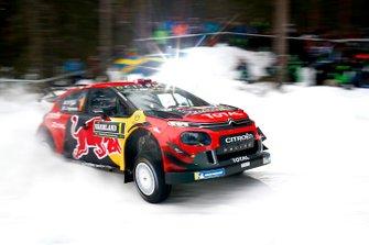 Sébastien Ogier, Julien Ingrassia, Citroën C3 WRC, Citroën World Rally Team