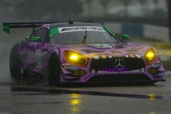 #71 P1 Motorsports Mercedes-AMG GT3, GTD: Maximilian Buhk, Fabian Schiller, JC Perez