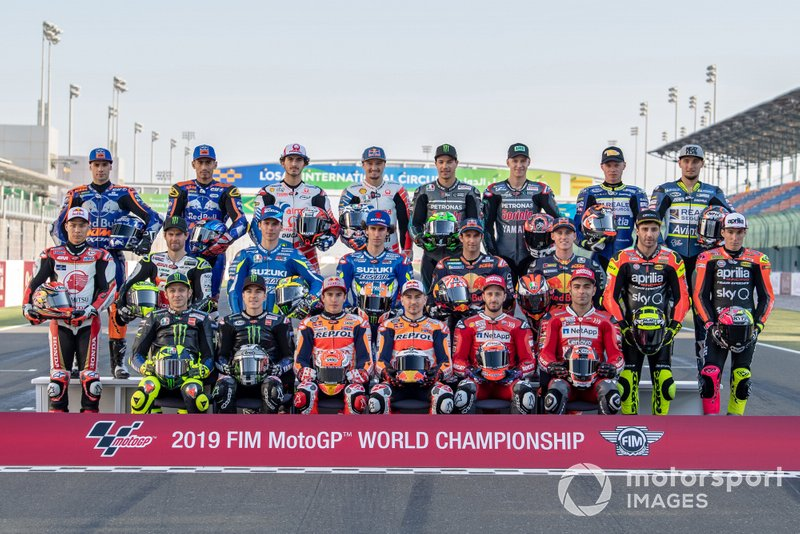 Para pembalap MotoGP 2019