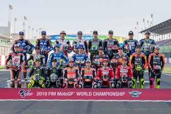 Foto de grupo de MotoGP 2019