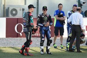 Фабио Куартараро, Petronas Yamaha SRT, и Маверик Виньялес, Yamaha Factory Racing