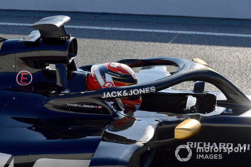 Шлем Кевина Магнуссена, Haas F1 Team