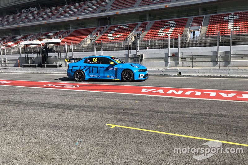 Yvan Muller, Cyan Racing Lynk & Co Lynk & Co 03 TCR