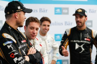Andre Lotterer, DS TECHEETAH with Robin Frijns, Envision Virgin Racing, Antonio Felix da Costa, BMW I Andretti Motorsports, Jean-Eric Vergne, DS TECHEETAH